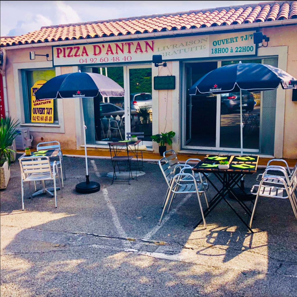 Pizza d'Antan à Châteauneuf-Grasse (06740)
