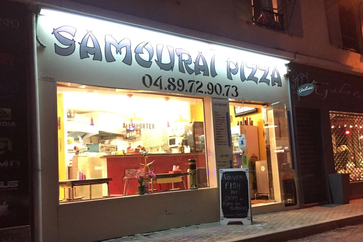 Samouraï Pizza à Le Rouret (06650)