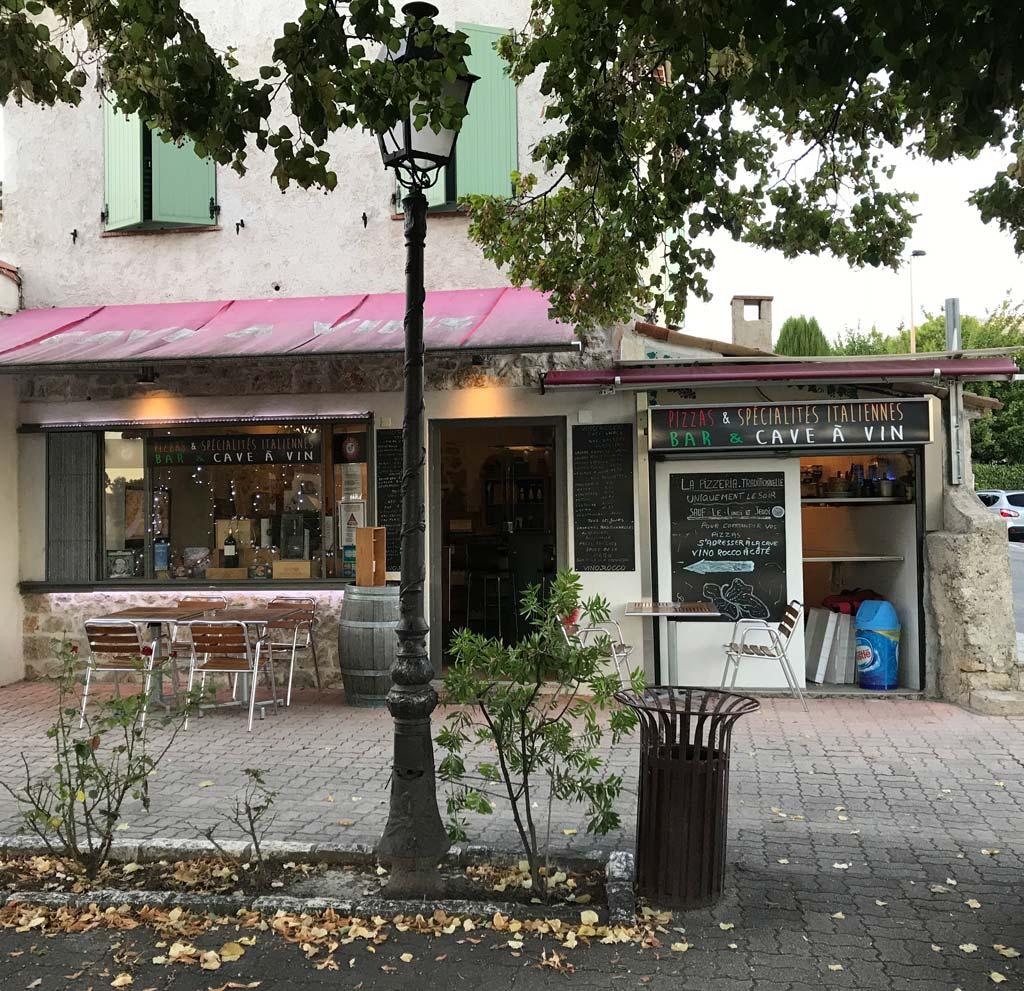 Vino Rocco Cave à Vin & Pizzeria à Le Rouret (06650)